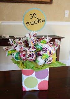 One Dog Woof: 30 Sucks Lollipop Bouquet