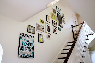One Dog Woof: Staircase Frame Gallery