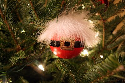 One Dog Woof: Santa Ornament