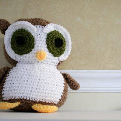 Meet Elliot, Owl Amigurumi