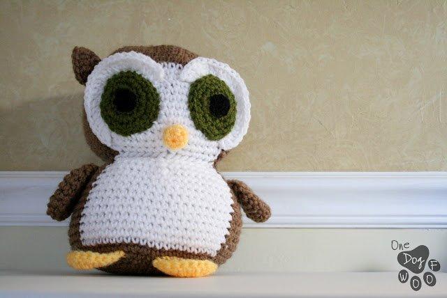 owl amigurumi. pattern from craftsy