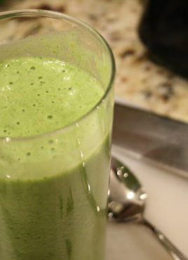 Spinach Fruit Smoothie – Thank Goodness for My Blender!