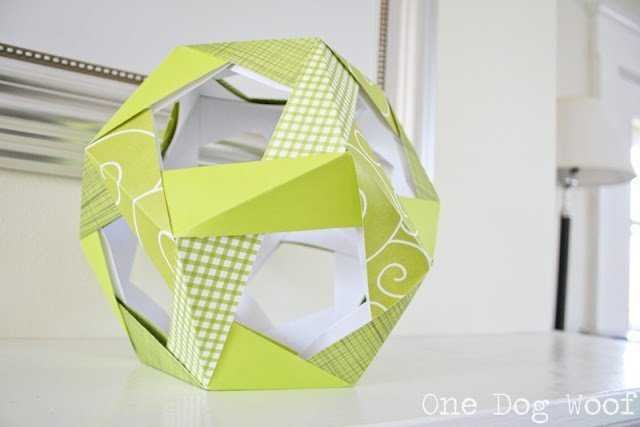 Modular Origami Ball Tutorial - 6 Units - Instructables | 427x640