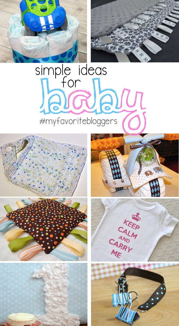 DIY Ideas for Baby | www.1dogwoof.com