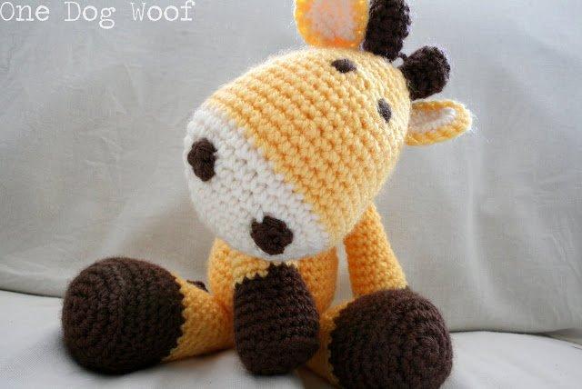 Crochet Giraffe Amigurumi | One Dog Woof | #crochet