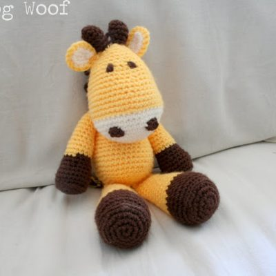 My First Giveaway! – Giraffe Amigurumi