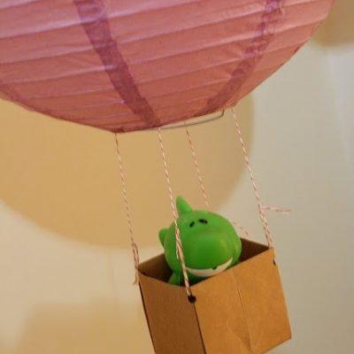 Hot Air Balloon Lantern