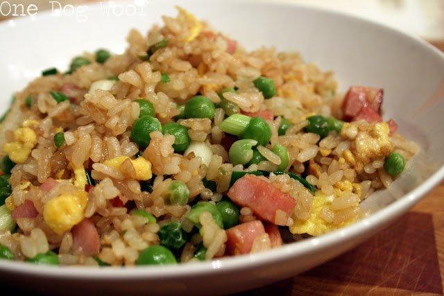 Homestyle Fried Rice | One Dog Woof | #chinesefood #onepotwonder