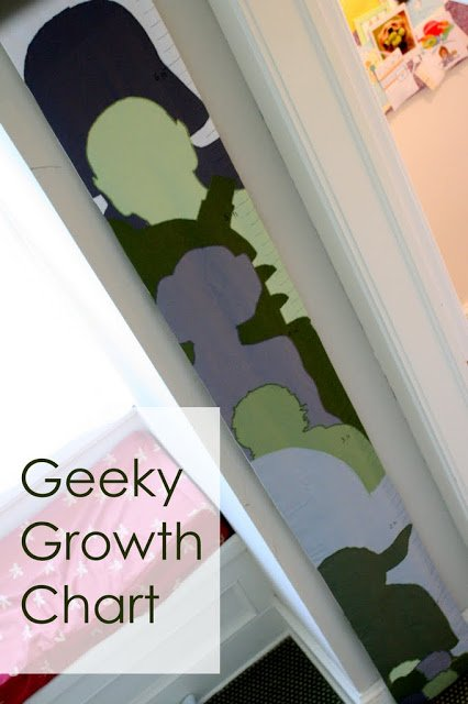 Geeky Growth Chart | One Dog Woof | #starwars #applique