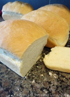Party In My Tummy: Easy Peasy Bread from Kerr-afty Creations