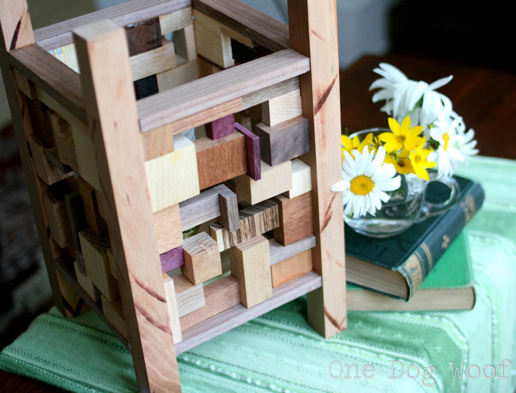 Scrap Wood Lantern | One Dog Woof