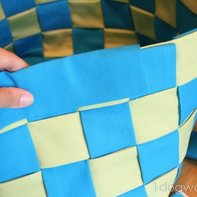 No-Sew Summer Basket Tutorial