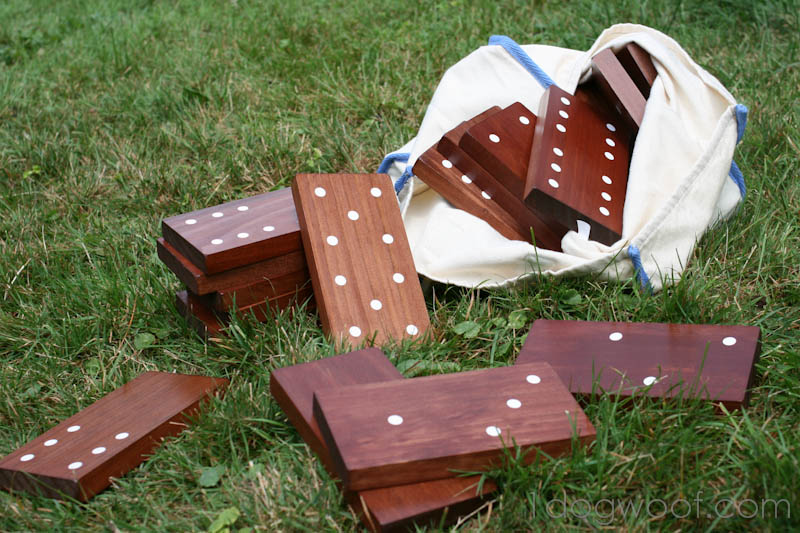 Outdoor Dominoes Tutorial