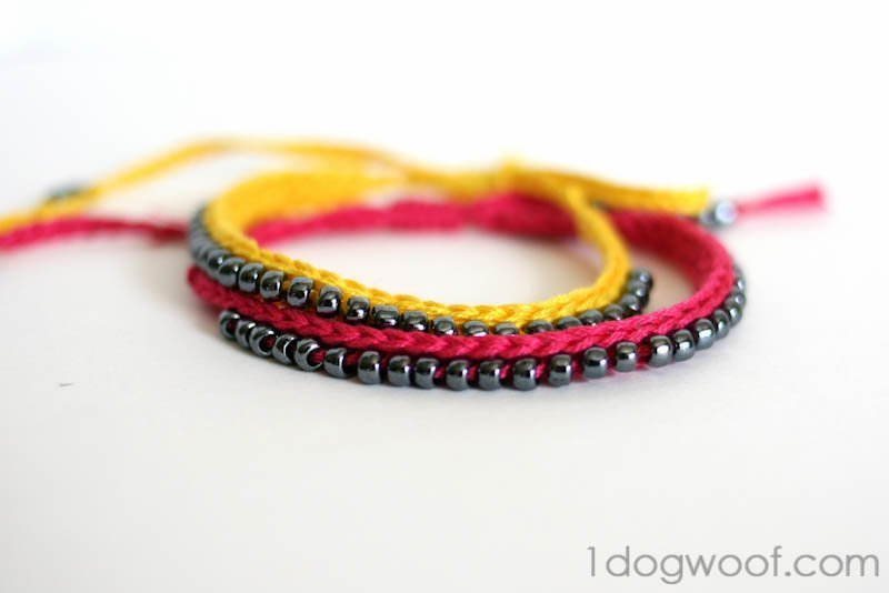 Crocheted Arm Candy