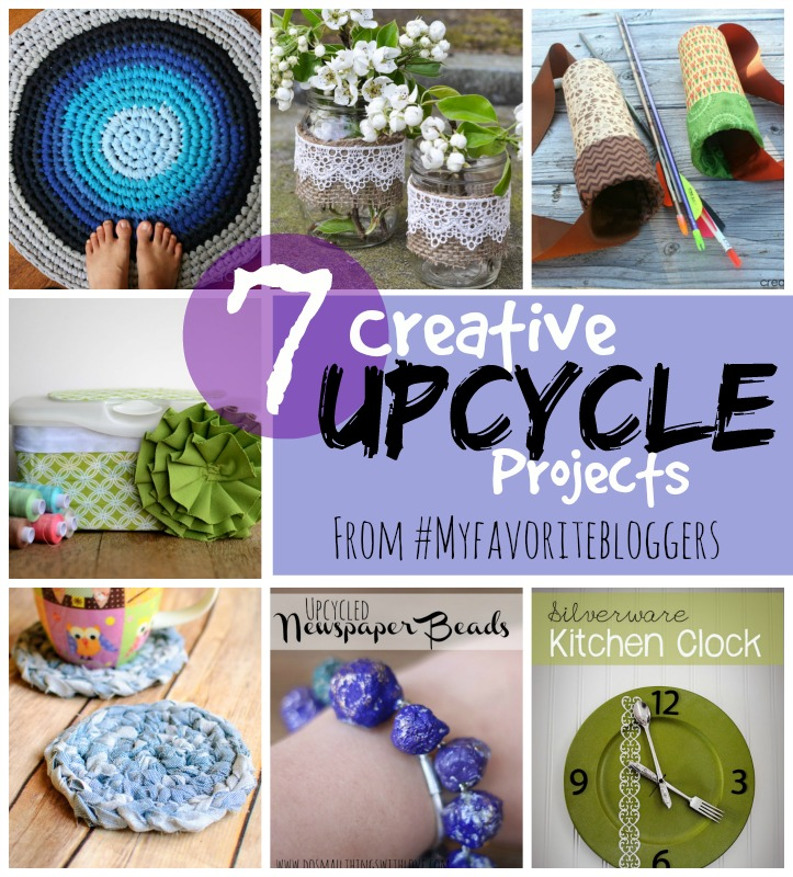 7 Creative Upcycle Projects from #MFB | www.1dogwoof.com