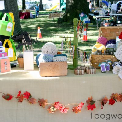 My First Craft Show, and it was…