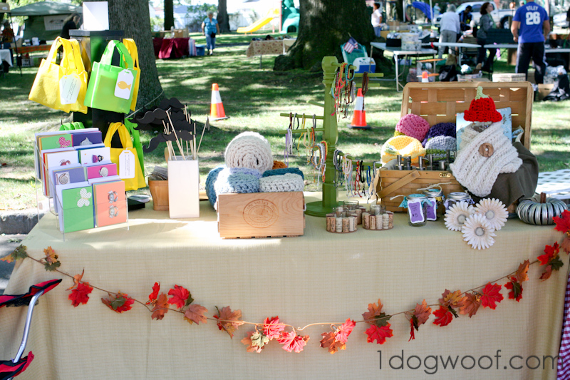 Crochet Craft Fair Display