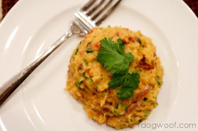 Mangu Recipe | One Dog Woof | #plaintains #bacon Great side dish!