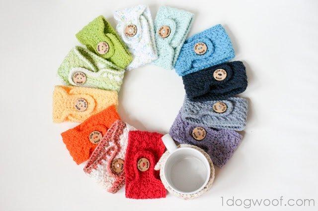 Warm and Toasty – Crochet Mug Cozies