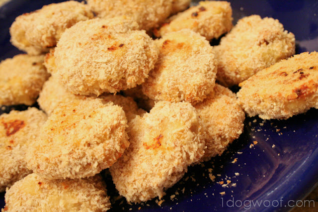Baked (Ground) Chicken Nuggets - One