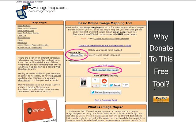 How to Create and Use Image Maps on Your Blog - One Dog Woof