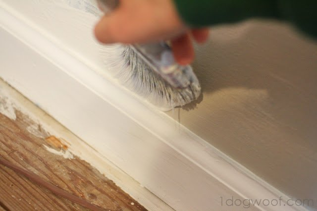 How To Paint Without Taping One Dog Woof