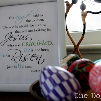 Easter Printable: Re-post