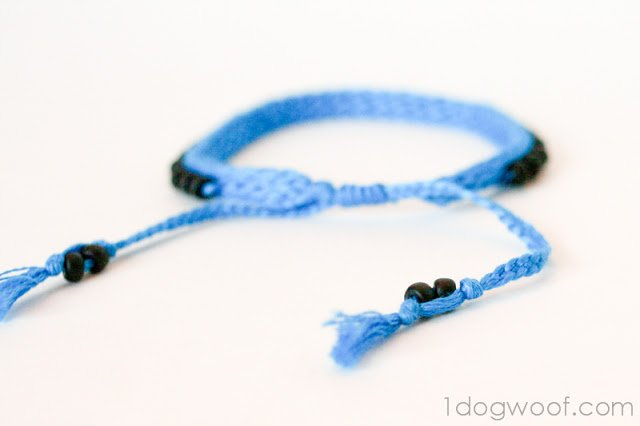 One Dog Woof: Crochet Bracelet