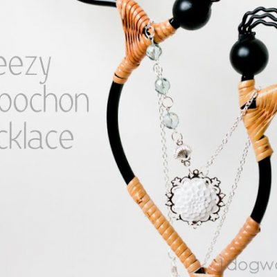 Cool and Breezy Cabochon Necklace