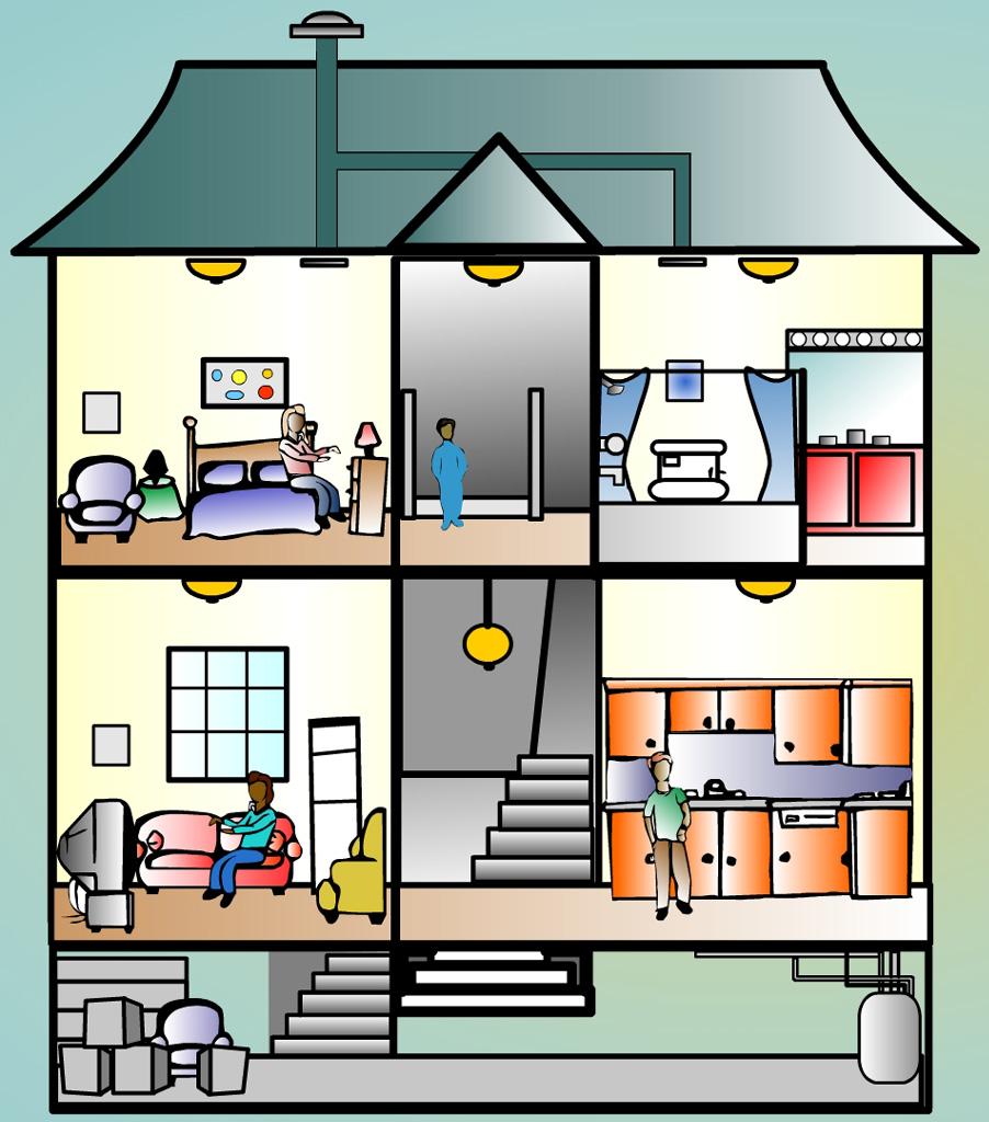 Tata Ruang Dan Letak Perabotan Di Rumah Diatur Sedemikian Rupa Sehingga Sistematis Multi Fungsi Yang Lebih Memudahkan Pengurusan Tangga Juga