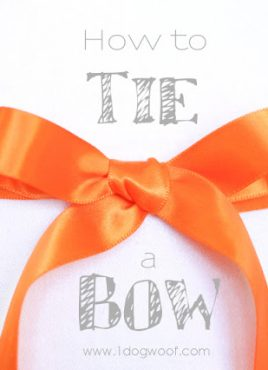 How to Tie a Beautiful Ribbon Bow