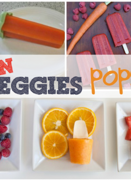 Hidden Veggies Round-Up: Hide Vegetables in Popsicles