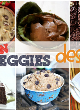 Hidden Veggies Round-Up: How to Hide Vegetables in Dessert