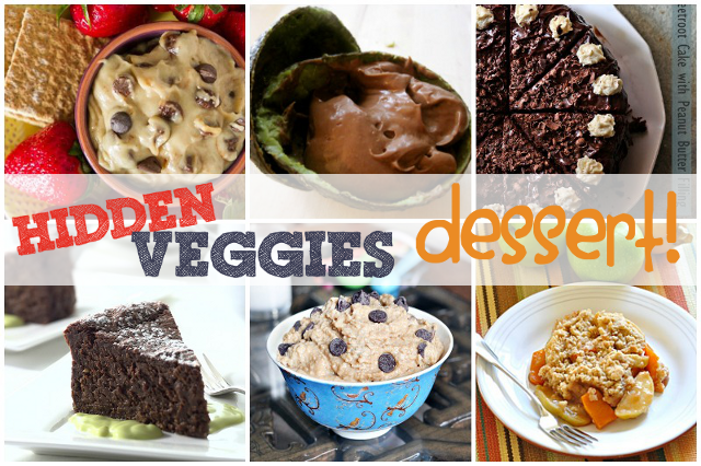 One Dog Woof: Hide Veggies in Dessert