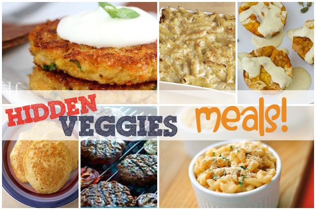 Hide Vegetables in Savory Meals