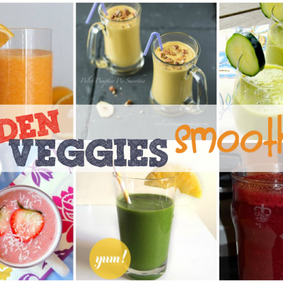 Hidden Veggies Round-Up: Hide Vegetables in Smoothies!