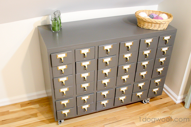 One Dog Woof: Refinished Card Catalog