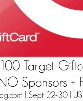 $100 Target Gift Card Giveaway and a Quick Note
