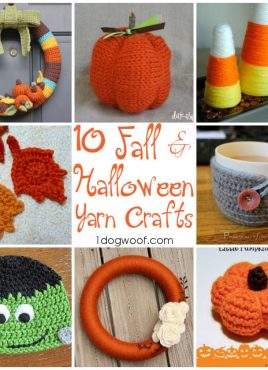 Halloween and Fall Yarn Crafts Roundup