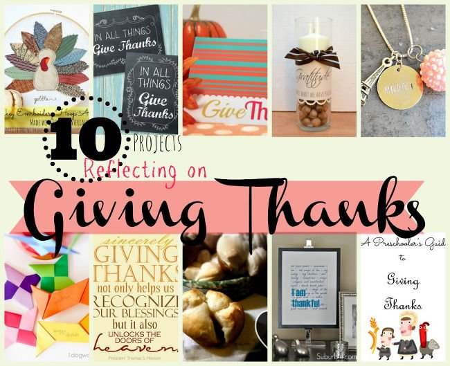 10 Thankful Projects | One Dog Woof | #Thanksgiving