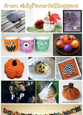 Free Halloween E-Book: Tricks & Treats with #MyFavoriteBloggers