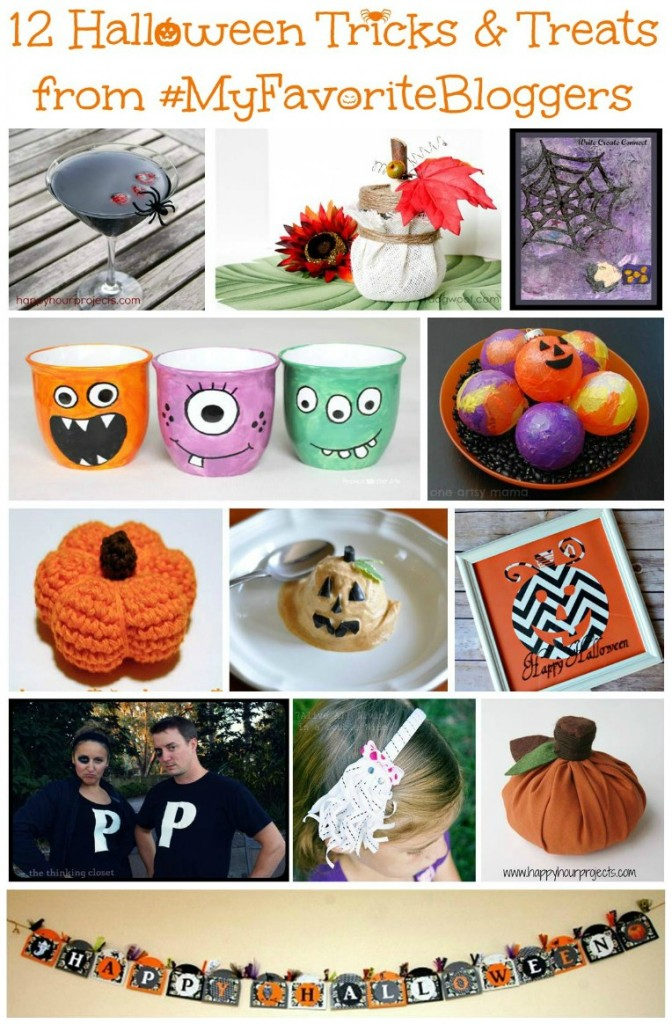 Free Halloween E-Book:12 Halloween Tricks and Treats from #MyFavoriteBloggers