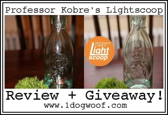 Lightscoop Giveaway 10/24 to 11/1 : One Dog Woof