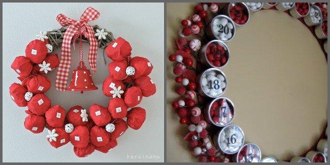 Diy Advent Calendar Wreath : Diy christmas advent calendar ideas one dog woof