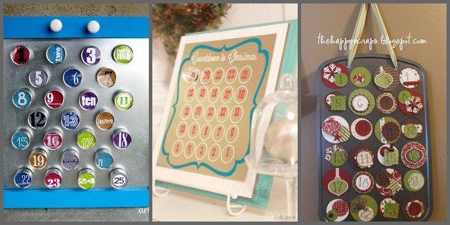 Homemade Advent Calendar Ideas For Boyfriend : Diy christmas advent calendar ideas one dog woof