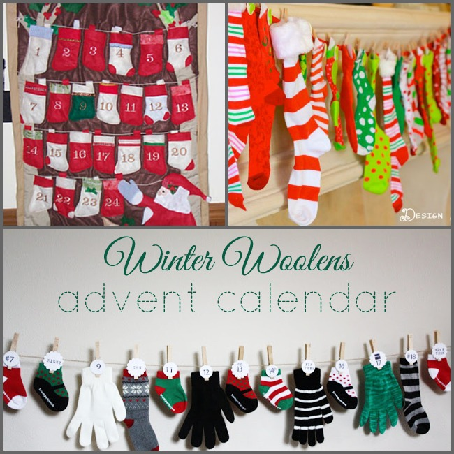 25 DIY Advent Calendar Ideas Roundup | One Dog Woof | #holidays #crafts #inspiration