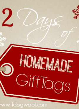 12 Days of DIY Christmas Gift Tags