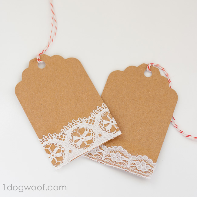 Vintage Lace Gift Tags