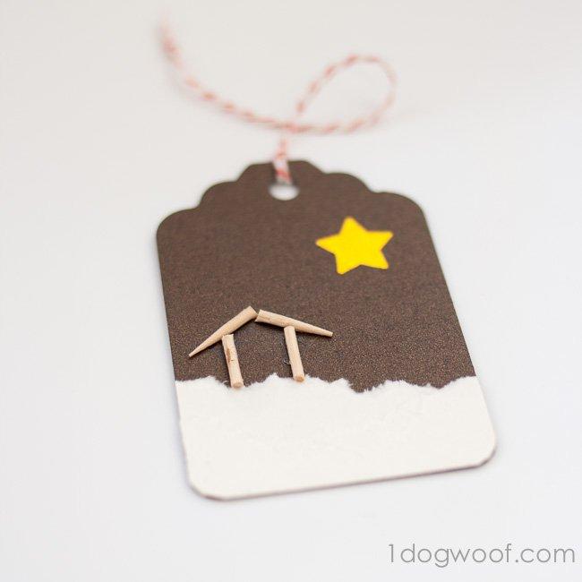 O Holy Night Christmas Gift Tags