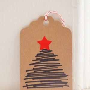Marker Christmas Tree